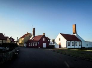 Bornholm wędzarnie Gudhjem