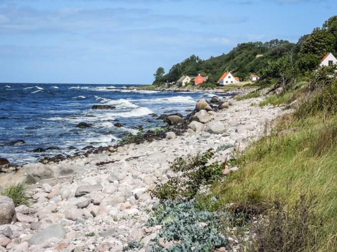 Bornholm wioski rybackie