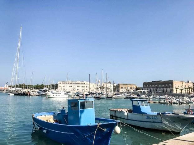 Trani port