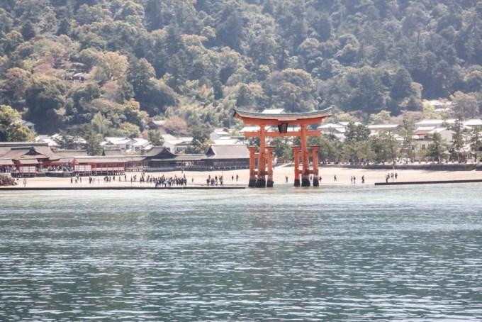 Brama Torii Miyajima Japonia