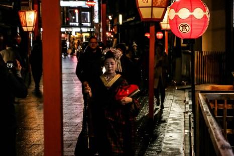 Gion Kyoto gejsza
