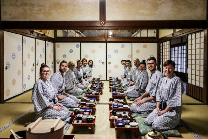 Kolacja z mnichami Koyasan