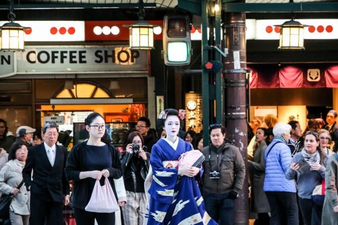 Maiko w Gion