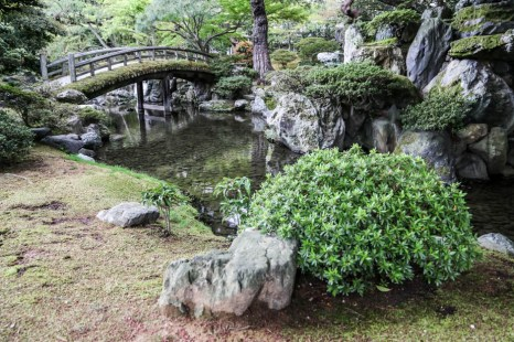 Pałac Kyoto ogrody