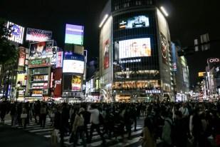 Shibuya skrzyżowanie