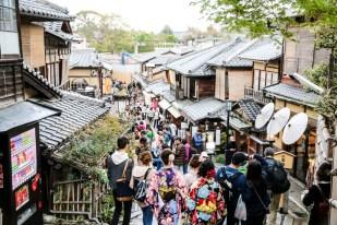 Stare uliczki Kioto