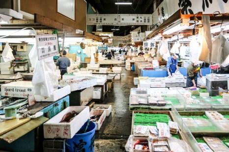 Targ Tsukiji Tokio hurt