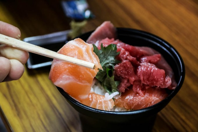 Targ Tsukiji Tokio sushi
