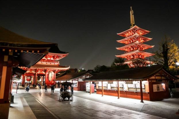 Tokio świątynia buddyjska Senso-ji