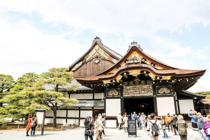 Zamek Nijo-jo Kyoto