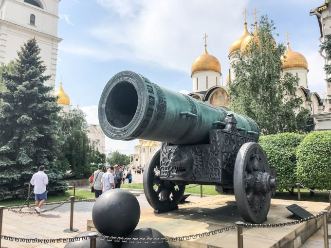 Kreml Moskwa armata