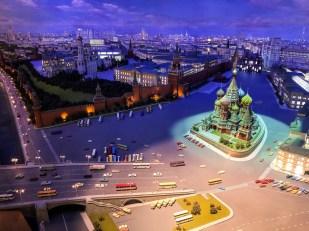Makiera w Hotelu Ukraina Moskwa