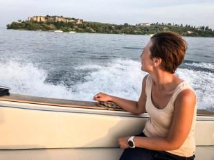 Rejs łodzią w Sirmione