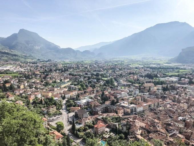 Riva del Garda - widok z Bastionu