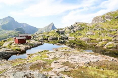 Munkebu Hut na powrocie