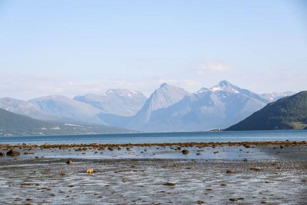 W drodze na Lofoty z Tromso
