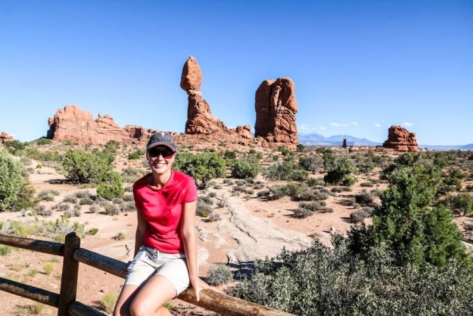 Arches Balance Rock
