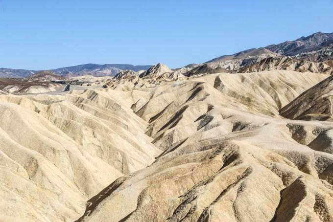 Death Valley Zabriskie