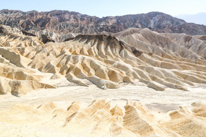 Death Valley punkt widokowy Zabriskie