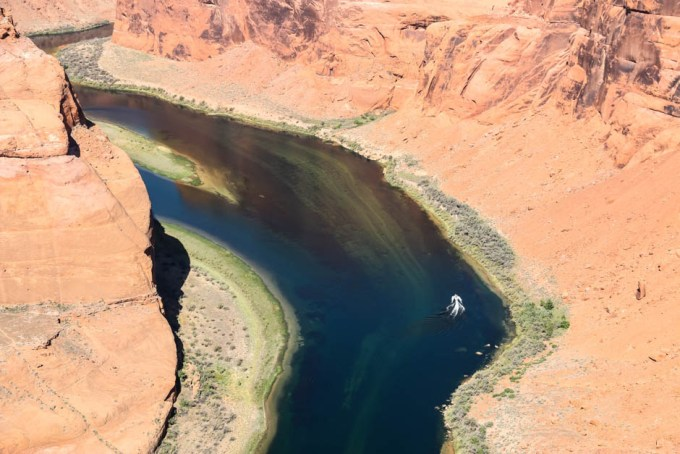 Horseshoe Bend rzeka Kolorado