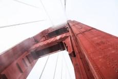 Na moście Golden Gate
