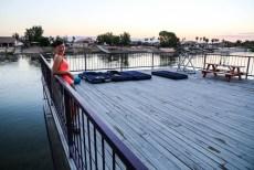Nocleg nad rzeką Kolorado