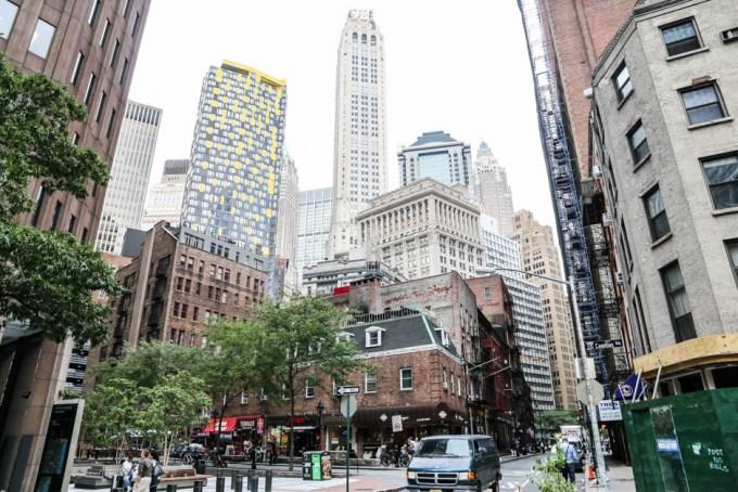 Nowy Jork Dzielnica Finansowa