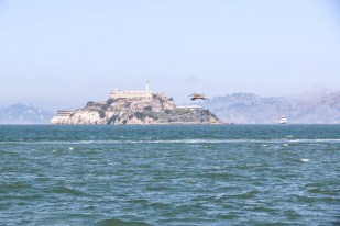 San Fransisco wyspa Alcatraz