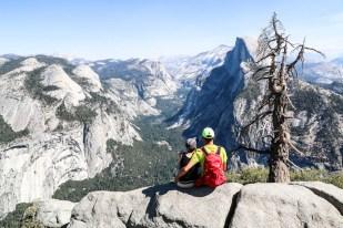 Yosemite Glacier Point panorama