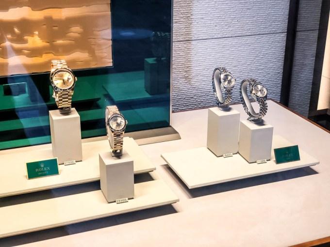 Drogie zegarki Rolex w Lugano