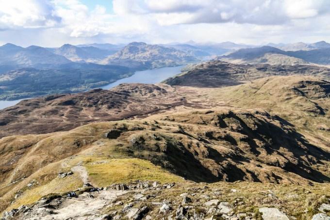 Panorama trekking Ben Lomond