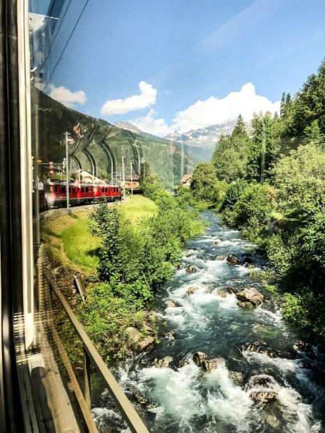 Pociąg Bernina Express