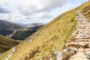 Szlak na najwyższy szczyt UK
