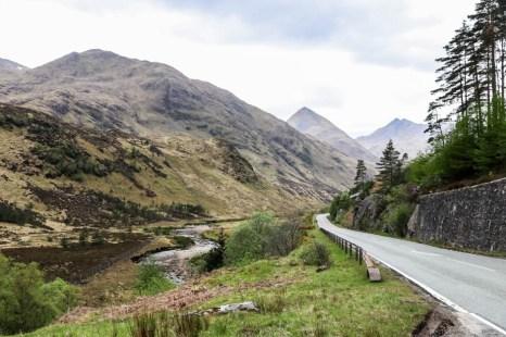 W drodze przez Highlands do Inverness