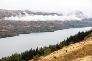 Widoki na Loch Lomond