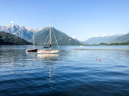 Wieczór nad jeziorem Como