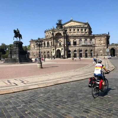 Opera Sampera wyjazd z Drezna