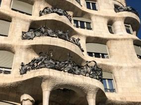 Casa Mila balustrady