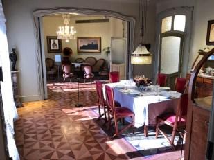 Casa Mila muzeum salon