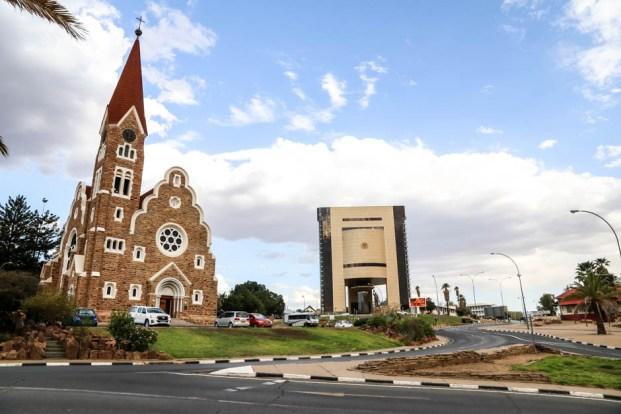Kościół i muzeum w Winhoek
