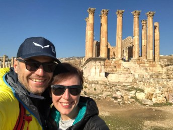 Jerash świątynia Artemidy