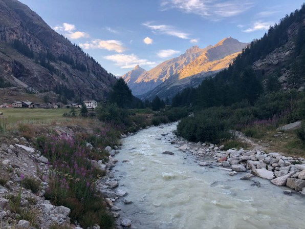 Camping Pont rzeka