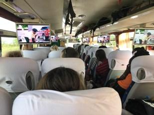 Tanzania autobus do Dar es Salaam 2