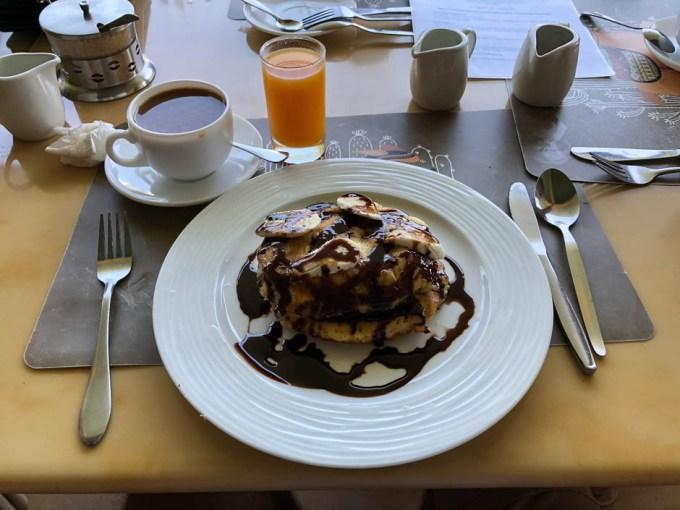 Tanzania Mbezi Beach sniadanie