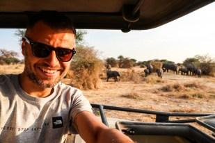 Tanzania PN Tarangire ze sloniami