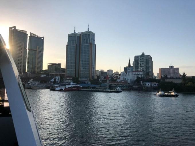 Tanzania powrot z Zanzibaru do Dar es Salaam