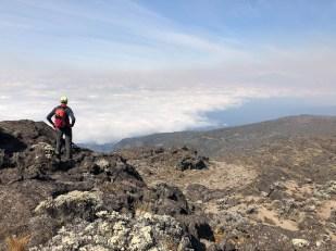 Tanzania trekking Kilimananjaro nad chmurami