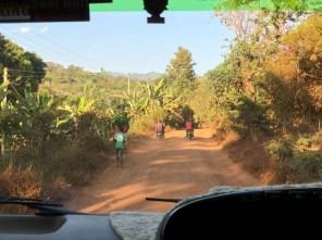 Tanzania w drodze na plantacje kawy