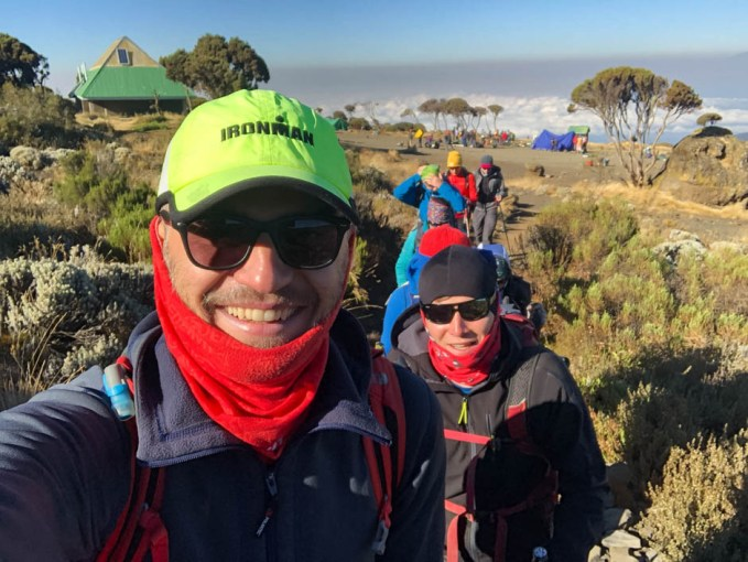 Trasa Machame start z shira camp