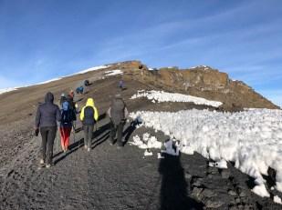 Trekking Kilimandzaro atak szczytowy na kraterze